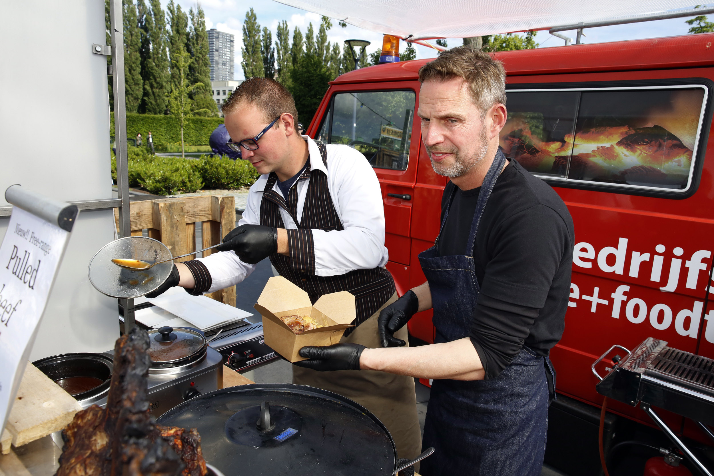 Feest Rotterdam Museumpark Picadilly Food Camp Slager Wapenaar