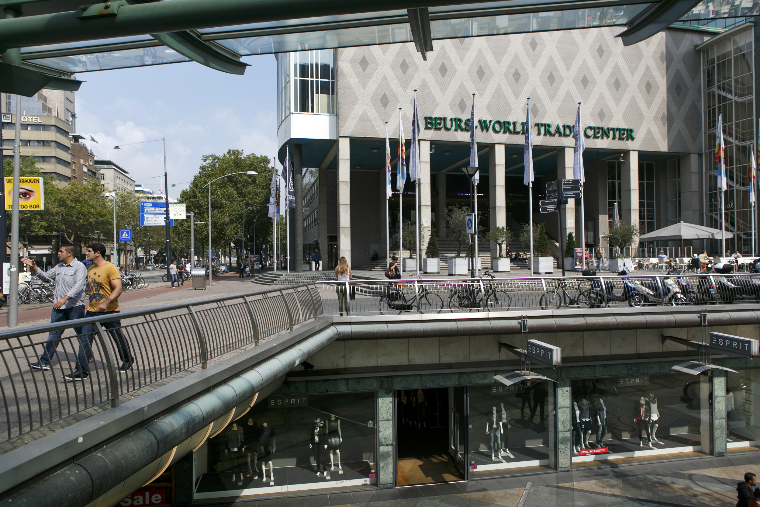 Rotterdam Beurs World Trade Center Coolsingel Koopgoot