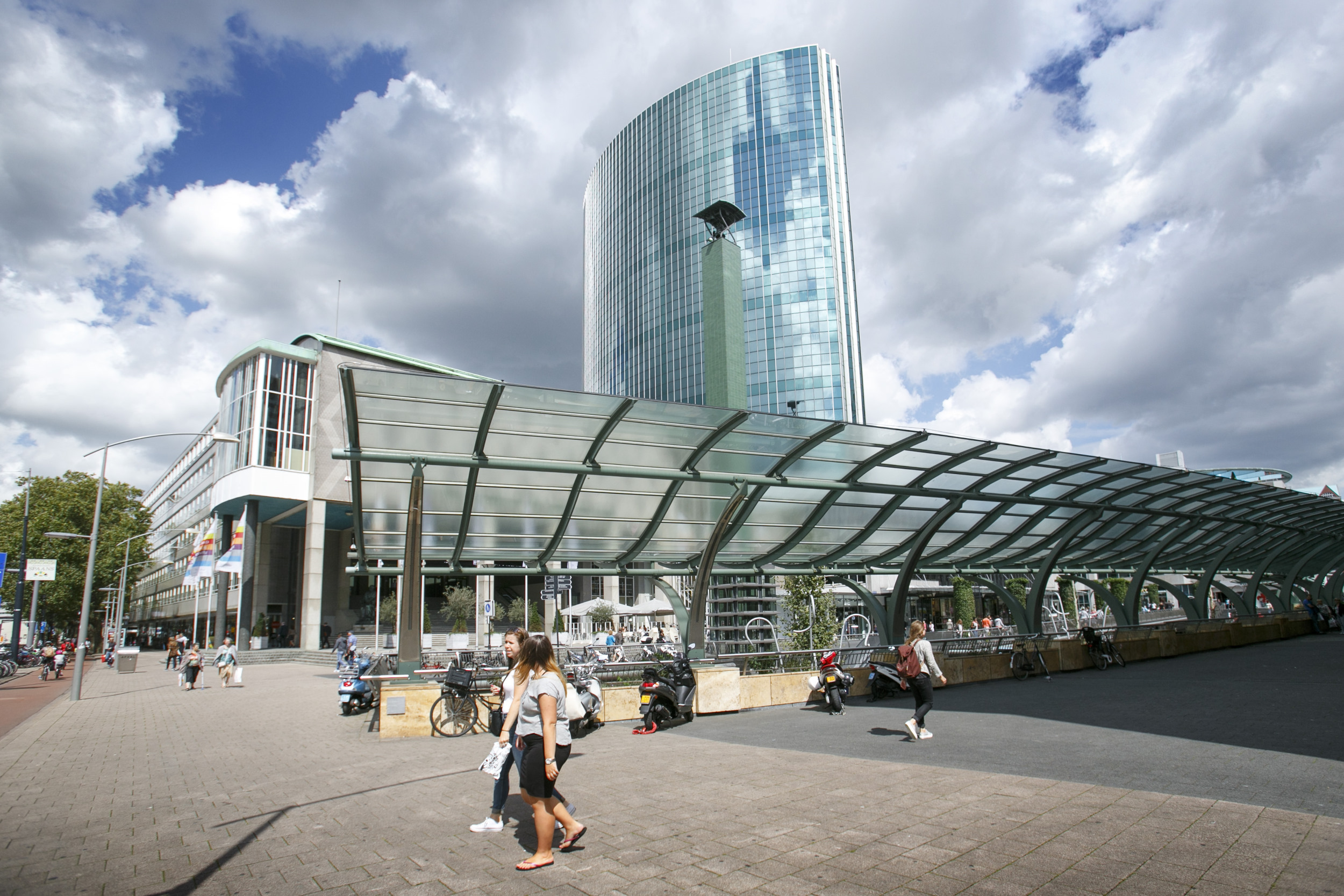 Rotterdam Koopgoot Beursplein World Trade Center