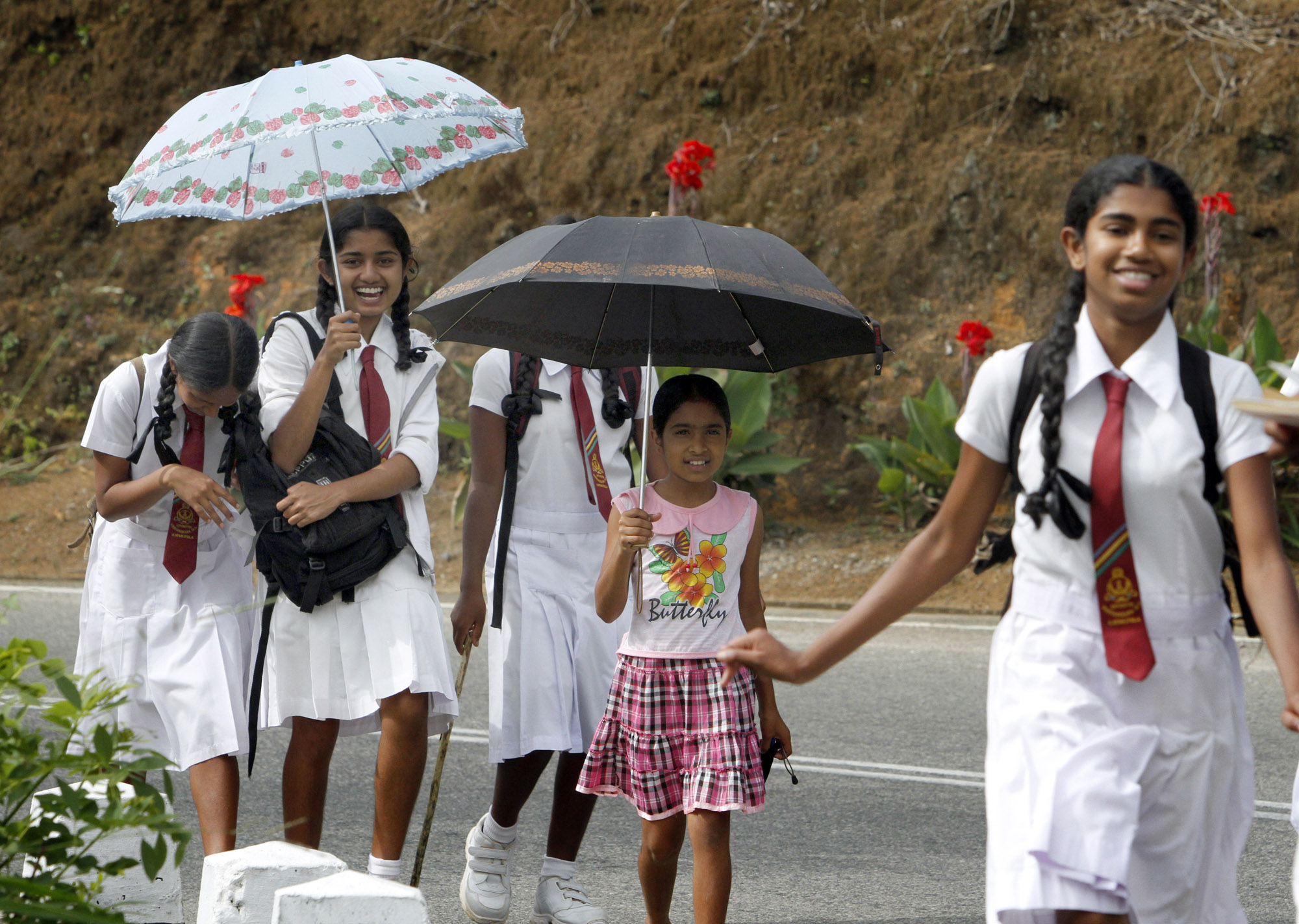 Sri Lanka Schoolkinderen Uniforms Paraplus