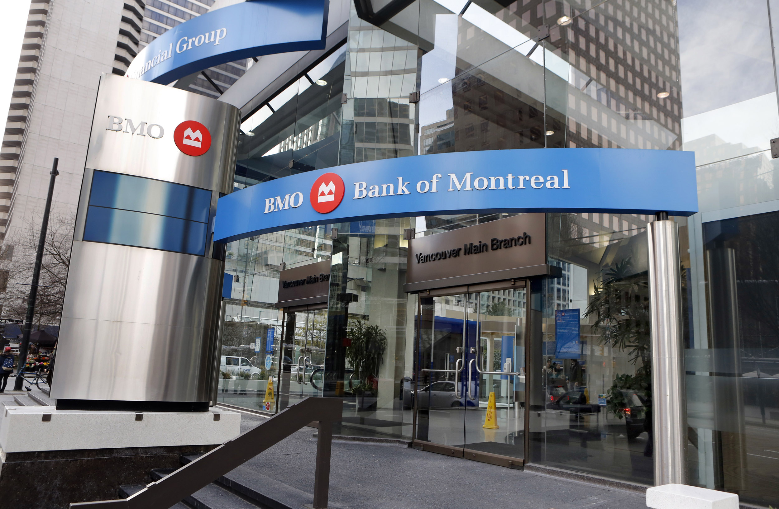 Canada, British Columbia, Vancouver, BMO, Bank of Montreal, logo