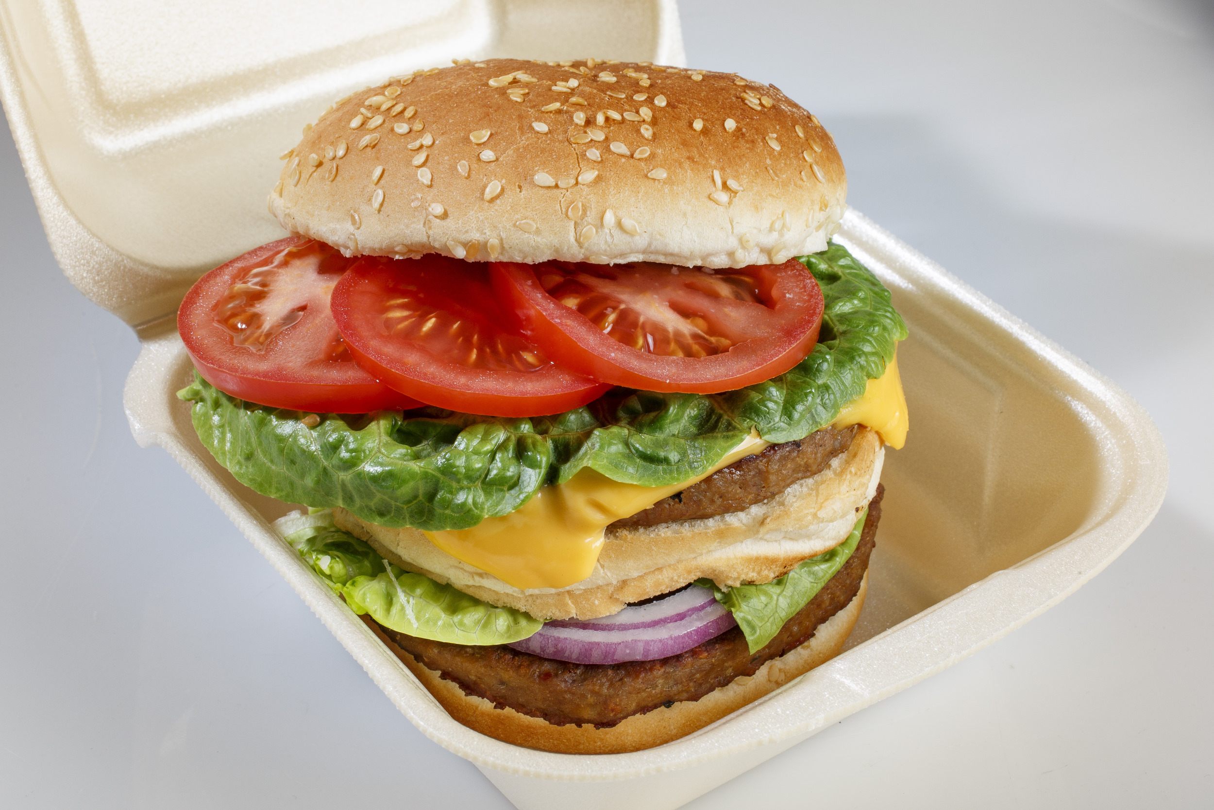 hamburger snack fastfood broodje