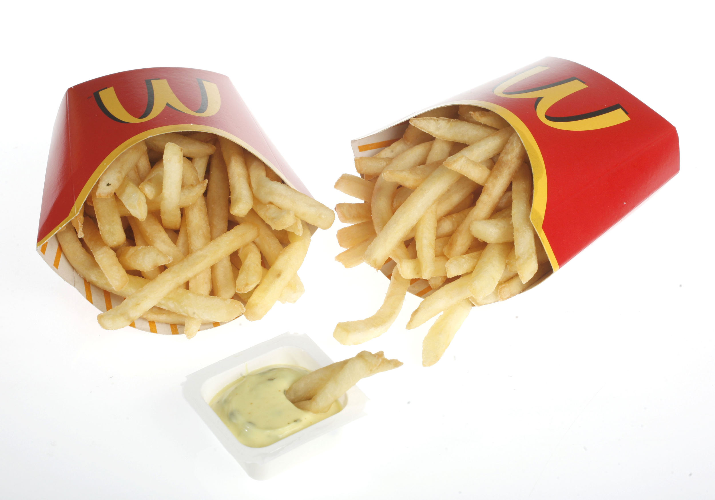 McDonalds fastfood junkfood patat fries fritessaus ongezond snack