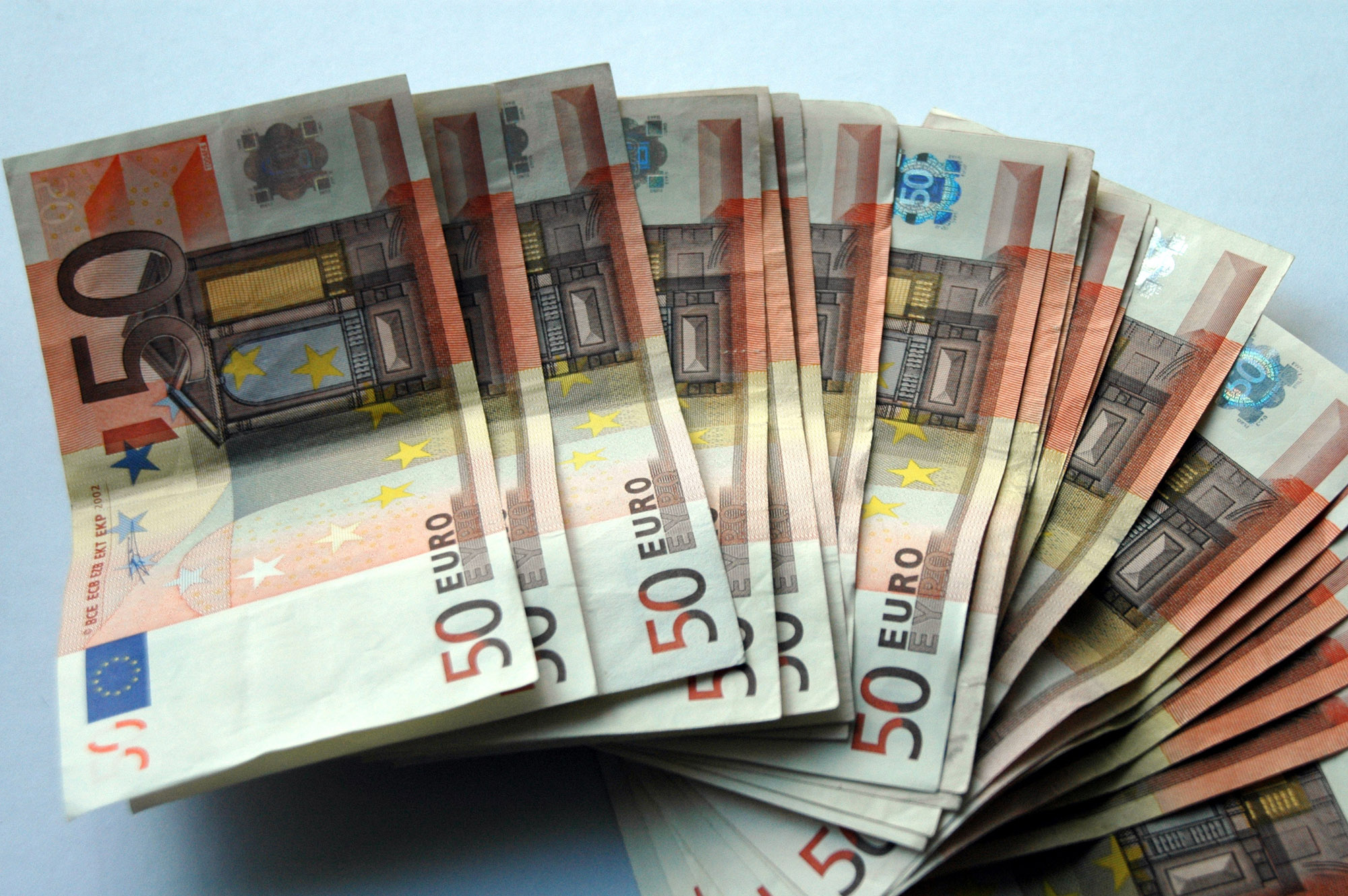 geld, money, bankbiljet, banknote, briefgeld, bills, euro, papiergeld, eurobiljet, vijftig, fifty