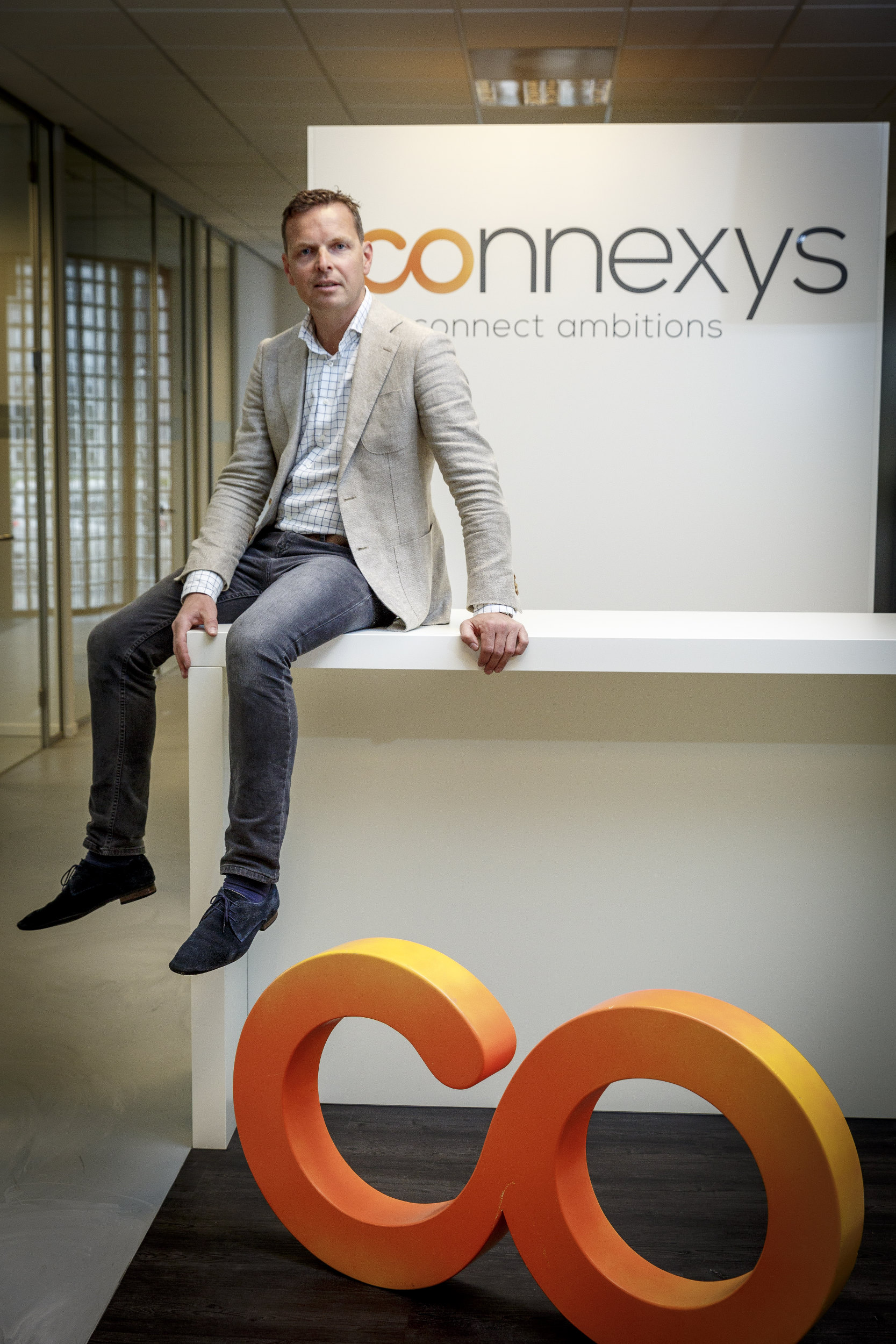portret Jan van Goch CMO Connexys Rotterdam recruitment software mensen